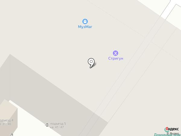 Салон-магазин музыкальных инструментов на карте Пскова