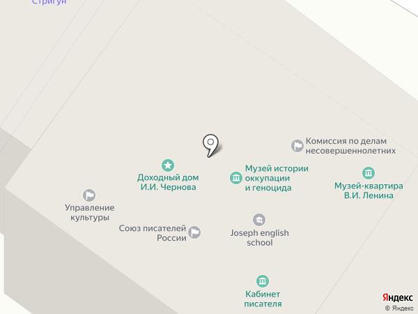 Комиссия по делам несовершеннолетних на карте Пскова