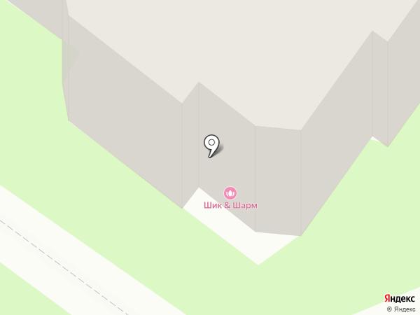 ШИК & ШАРМ на карте Пскова