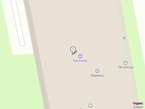 Псковземстрой на карте Пскова