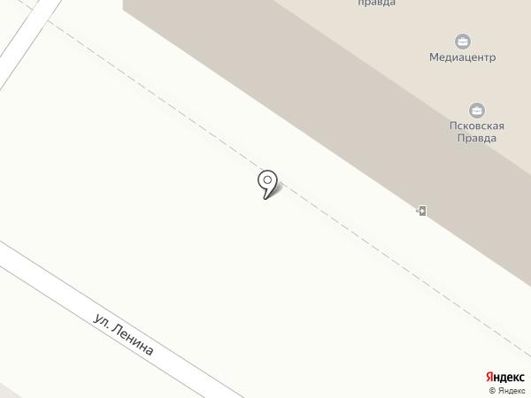 Псковский информационный туристический центр на карте Пскова