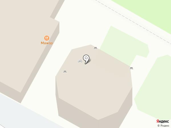 Мажор на карте Пскова