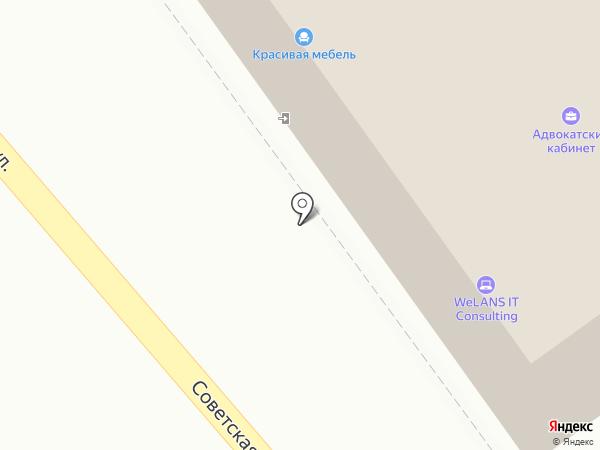 Юрвест на карте Пскова