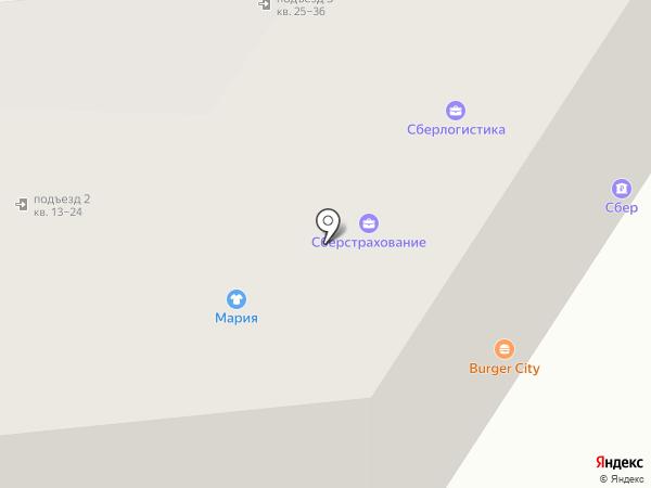 Арбат на карте Пскова