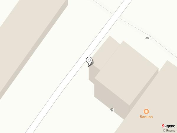 Блинофф на карте Пскова