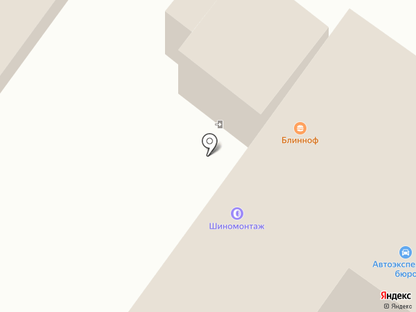 Шиномонтажная мастерская на карте Пскова