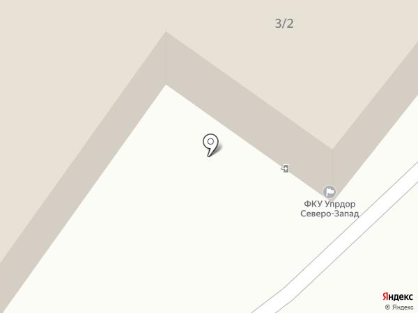 Севзапуправтодор на карте Пскова