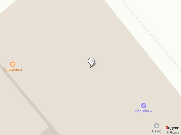 Андромеда на карте Пскова