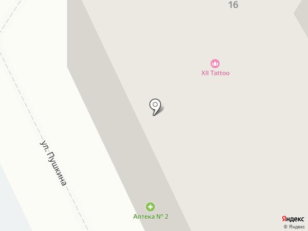 Автоэвакуатор на карте Пскова