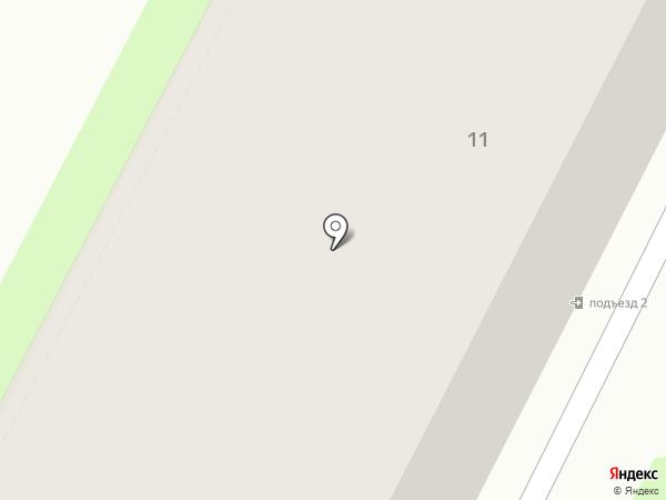 Ирис на карте Пскова
