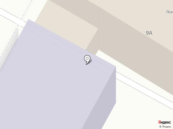 Стройтехнадзор, МКУ на карте Пскова