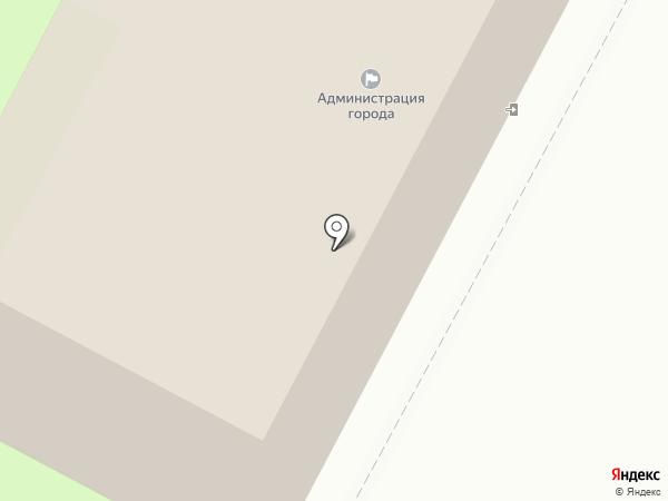 Администрация г. Пскова на карте Пскова