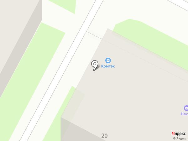 КомТехСервис на карте Пскова