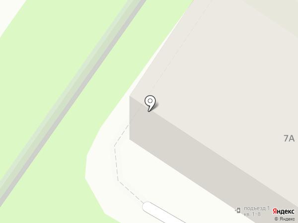 Адвокатский кабинет Шелест Н.П. на карте Пскова