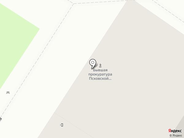 Научно-производственный центр по охране и использованию памятников истории и культуры Псковской области на карте Пскова