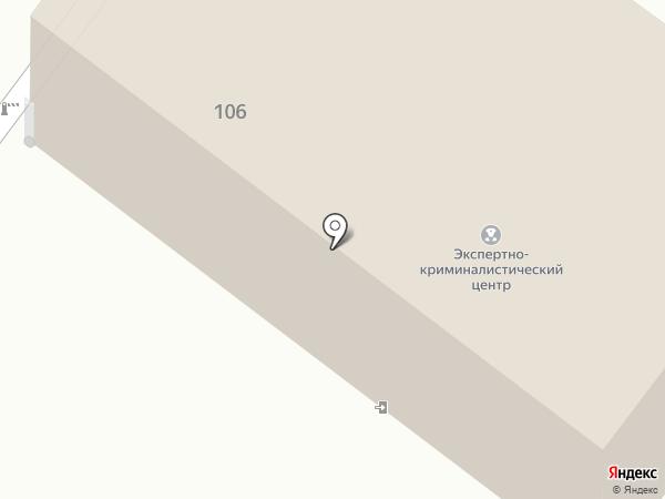 Экспертно-криминалистический центр на карте Пскова