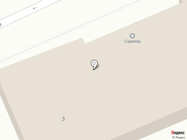 Садовод на карте Пскова