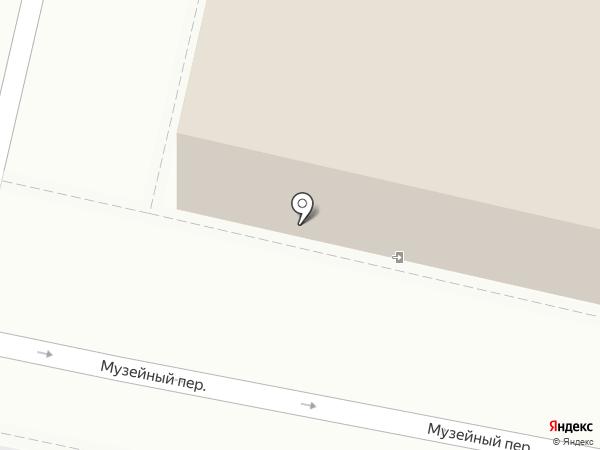 Музей памяти узников фашистских концлагерей на карте Пскова