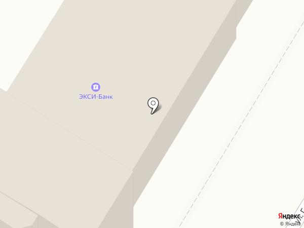 Экси-банк на карте Пскова