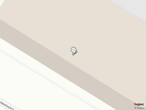 Комбинат благоустройства на карте Пскова