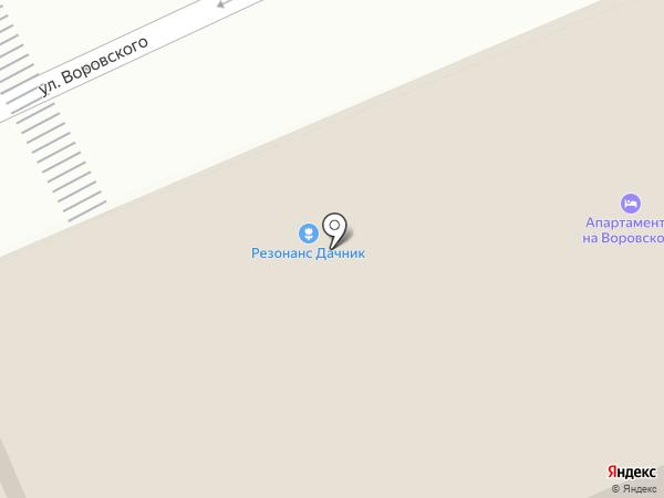 Резонанс Лопатино на карте Пскова