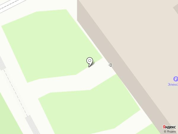 Дельрус-Псков на карте Пскова