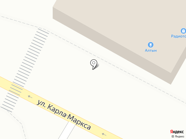 Алтын на карте Пскова