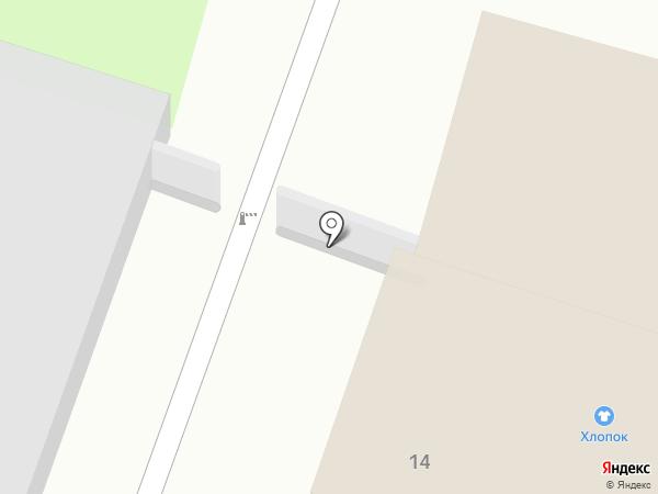 Ермолино на карте Пскова