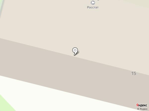 Псковстат на карте Пскова