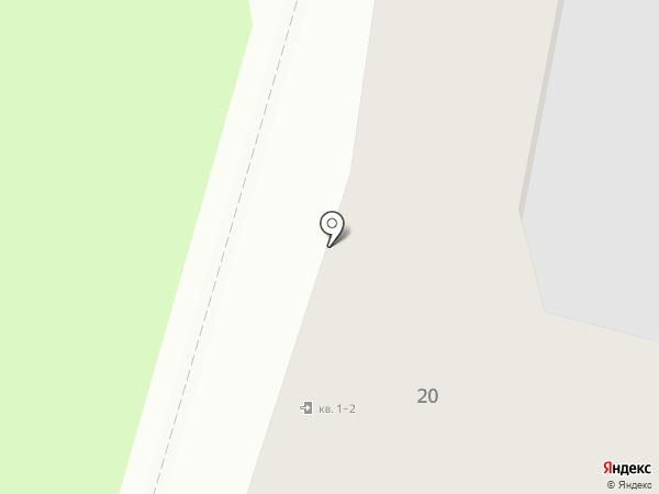 Искорка на карте Пскова