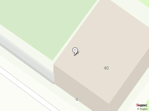Снежная горка на карте Пскова