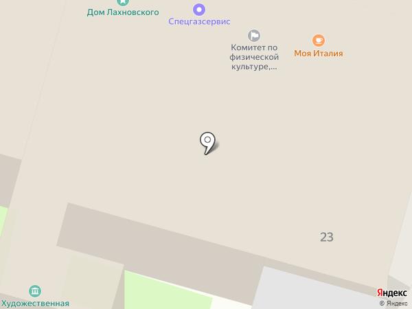 Спецгазсервис на карте Пскова