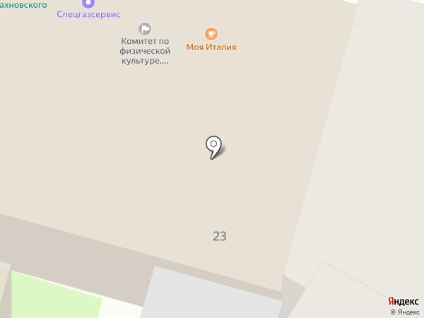 Художественная мастерская на карте Пскова