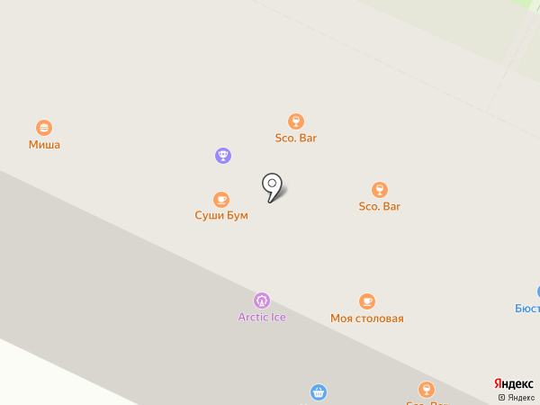Ковчег на карте Пскова