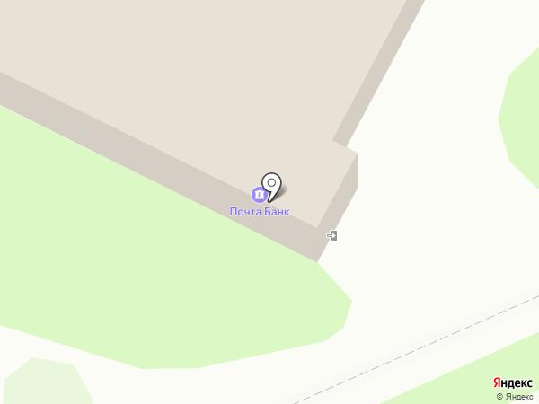 Почтовое отделение №22 на карте Пскова