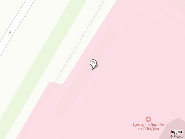Псковская городская больница №2 на карте Пскова