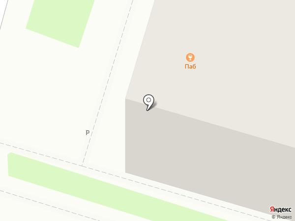 Омега на карте Пскова