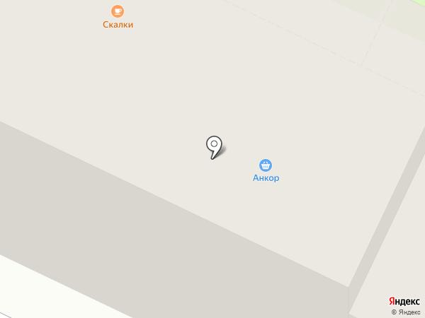 Бархат на карте Пскова