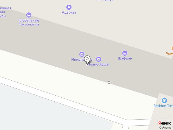 Техно-Центр на карте Пскова