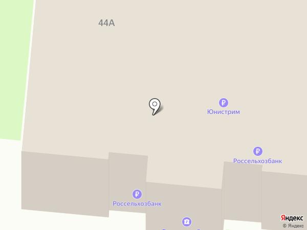 Россельхозбанк на карте Пскова