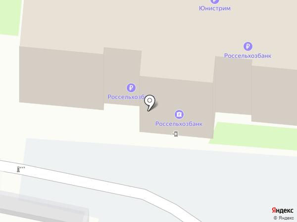 Банкомат, Россельхозбанк на карте Пскова