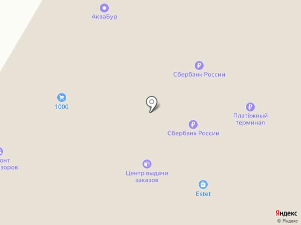 Детский на карте Пскова