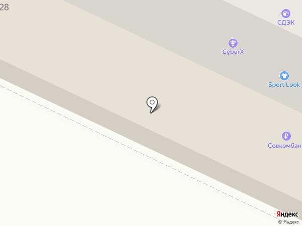 Ракета-СМ на карте Пскова