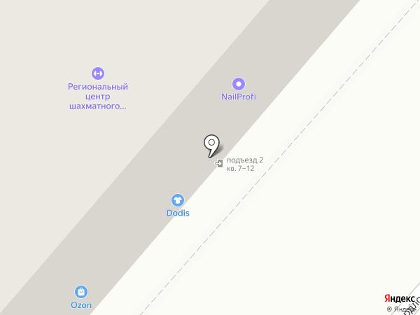 Жарь-Парь на карте Пскова