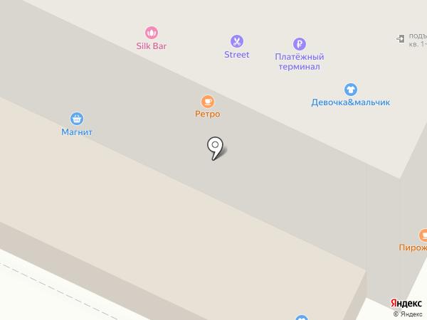 Аарон на карте Пскова