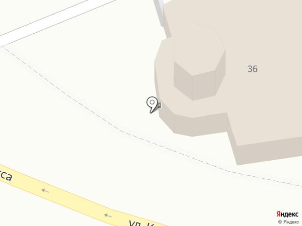 Церковь Покрова Пресвятой Богородицы от Торгу на карте Пскова