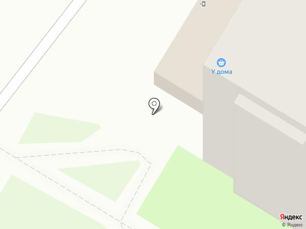 У дома на карте Пскова