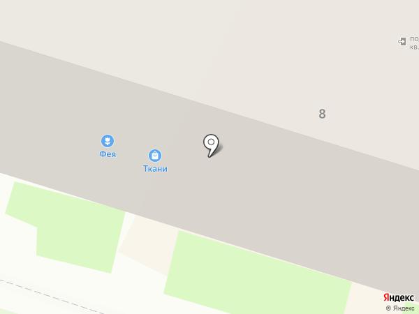 Курочкин на карте Пскова