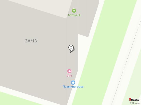 А2 на карте Пскова