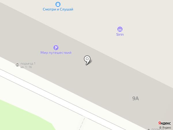 Четыре угла на карте Пскова